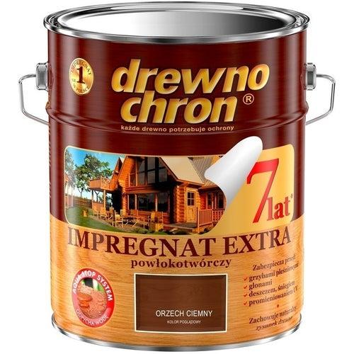 Impregnat Drewnochron Extra orzech ciemny 9l