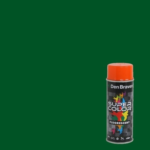 Spray Den Braven Super Color ciemny zielony 400ml
