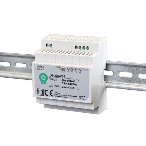 Zasilacz LED 60W 12V na szynę TH35