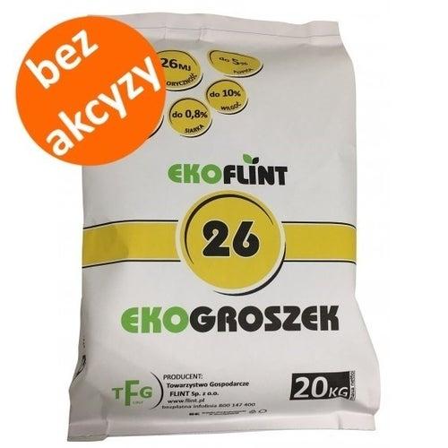 Ekogroszek Ekoflint 26 MJ 20 kg bez akcyzy
