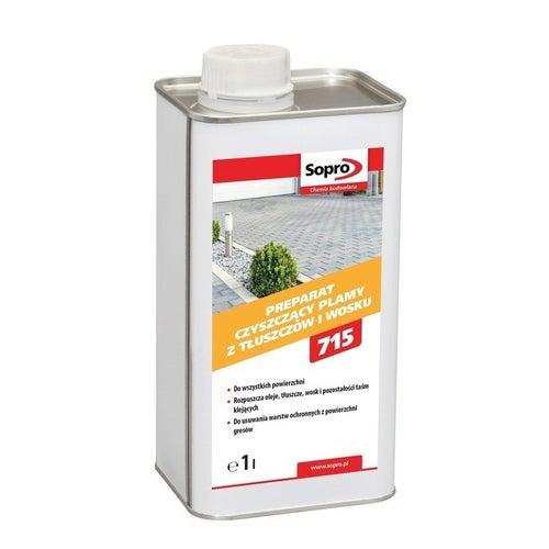 Preparat OWE 715 Sopro do czyszczenia tłustych plam i wosku 1 l