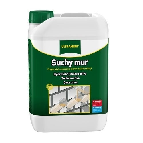 Hydroizolacja w płynie Ultrament Suchy Mur 30 kg