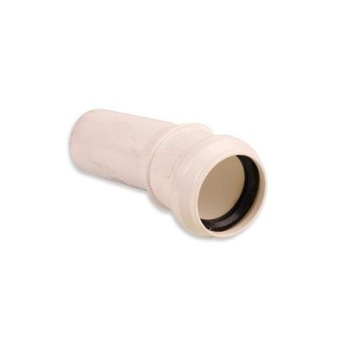 Kolano kanalizacyjne 15° 40 mm z uszczelką
