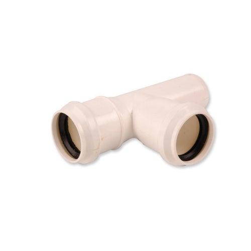 Trójnik kanalizacyjny 90° 40 mm z uszczelką