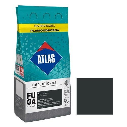 Fuga ceramiczna Atlas 204 czarny 5kg
