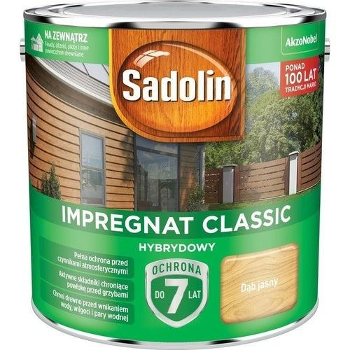Impregnat hybrydowy Sadolin Classic dąb jasny 2,5l