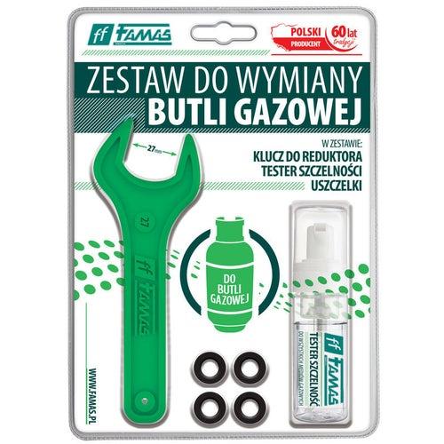 Zestaw do wymiany butli gazowej Famas FTS-Z
