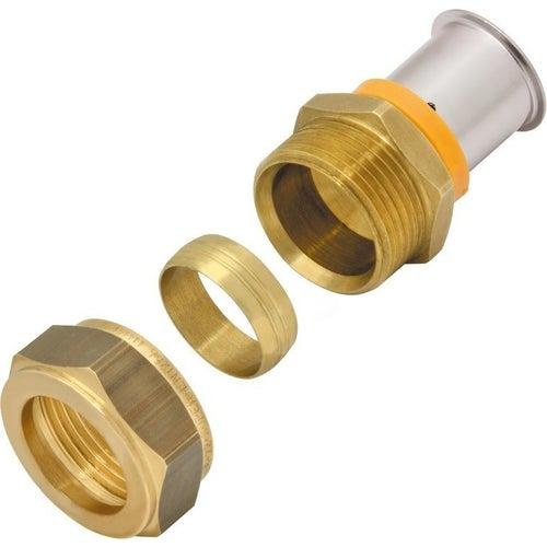 Kan Press Złączka mosiężna Compression 16x15 mm