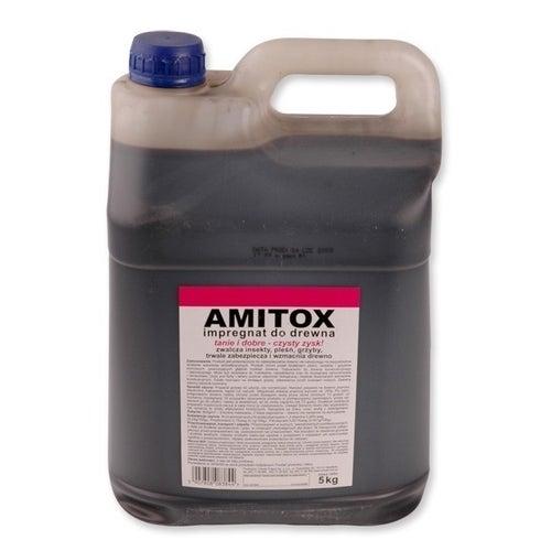 Impregnat do zabezpieczania drewna Amitox  5l