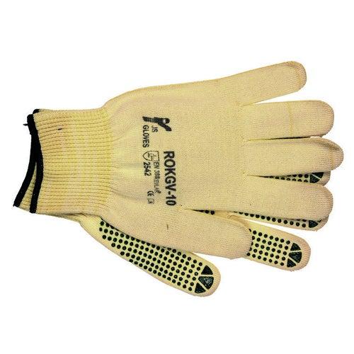 Rękawice o wysokiej odporności na przecięcie RJ-KEVLAFIBV, rozm. 10 (XL)