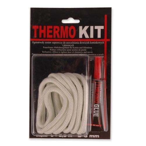 Zestaw naprawczy Thermo Kit (sznur uszczelniający 6 mm + klej)
