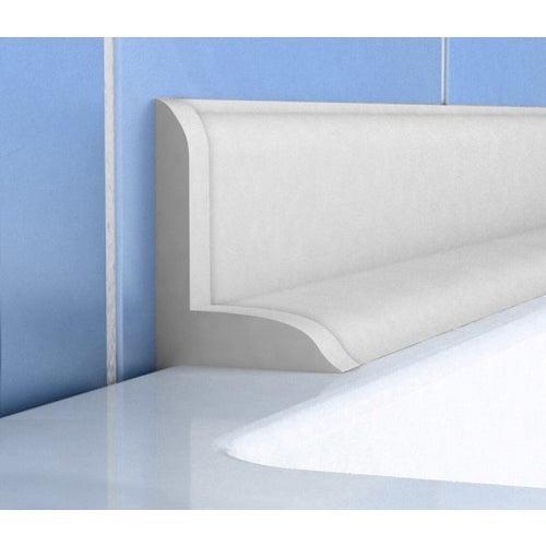 Listwa wannowa P56 biała 183 cm