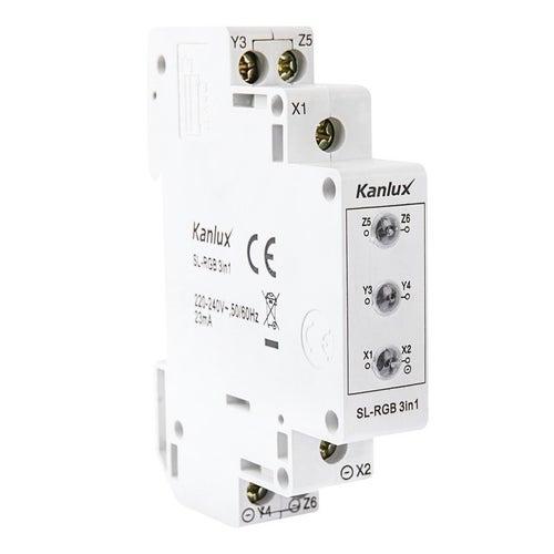 Lampka kontrolna LED 3-fazowa 3 kolory RGB