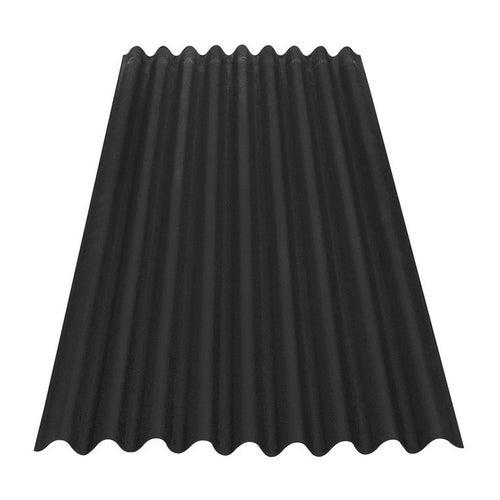 Płyta falista Onduline Base, czarna 2.00x0.86 m