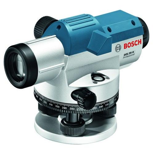 Niwelator optyczny GOL20G + statyw BT160 + łata miernicza GR500 Bosch