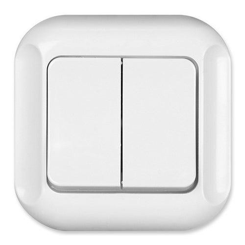 Timex Topaz Bis biały łącznik podwójny
