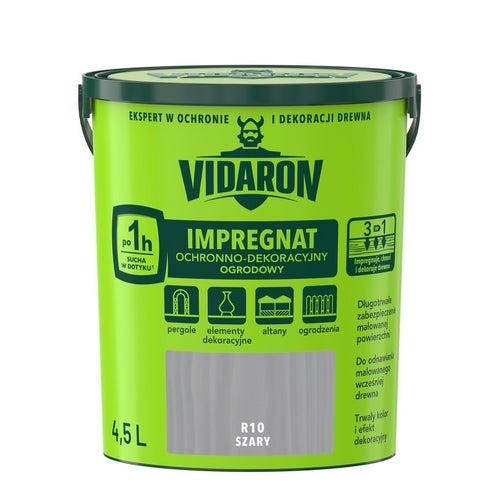 Impregnat ogrodowy Vidaron szary 4,5l