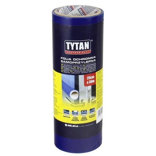 Tytan folia ochronna samoprzylepna 0.25 x 30 m