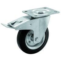 Zestaw jezdny skrętny 100 mm/70 kg z hamulcem