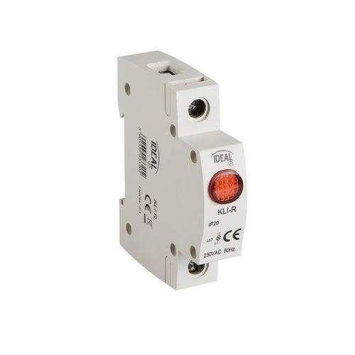 Lampka kontrolna LED 1-fazowa czerwona
