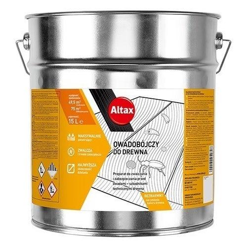 Altax Środek owadobójczy do drewna 15 l