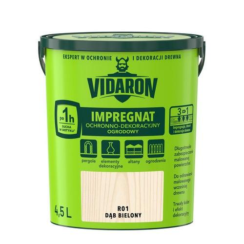 Impregnat ogrodowy Vidaron dąb bielony 4,5l