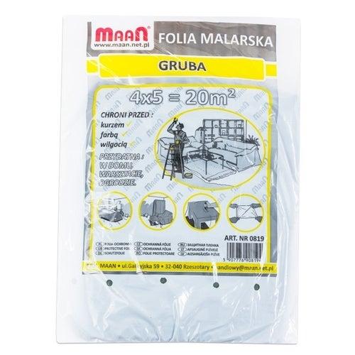 Folia malarska gruba 4x5m