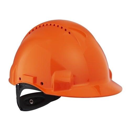 Hełm ochronny pomarańczowy Solaris G3000 3M