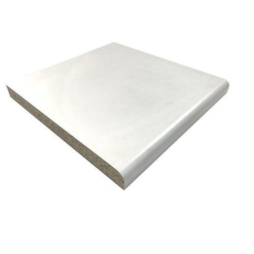 Blat biały, laminowany 28x600x3050 mm