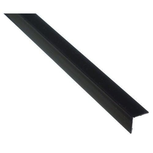 Kątownik PCV czarny 1000x20x20x1.5 mm