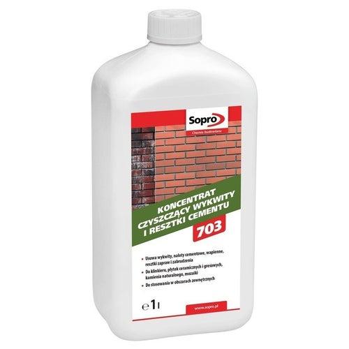 Koncentrat ZA 703 Sopro czyszczący wykwity i resztki cementu 1 l