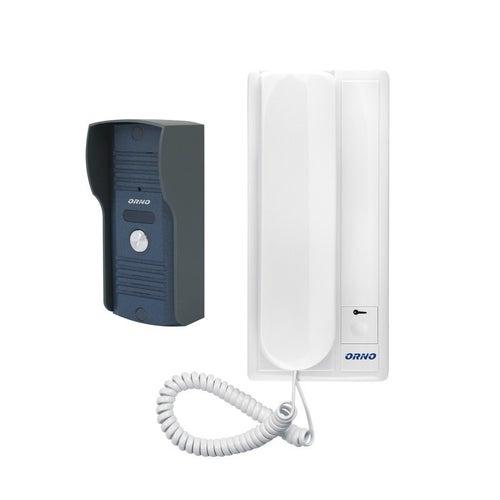 Zestaw domofonowy jednorodzinny, wandaloodporny, RL