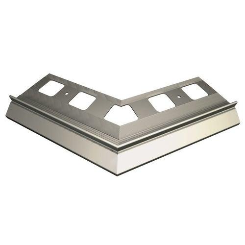 Narożnik 135° zewnętrzny szary + elementy montażowe