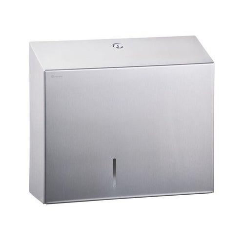 Pojemnik na papier toaletowy Merida Stella Maxi, stal matowa , BSM101