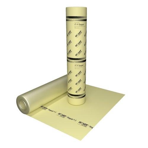 Folia paroizolacyjna Isover 100 m2 żółta 3x33.3 m