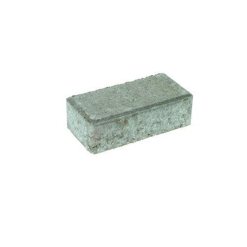 Kostka brukowa BaumaBrick Prostokąt szara gr. 8 cm gładka wym. 10x20 cm