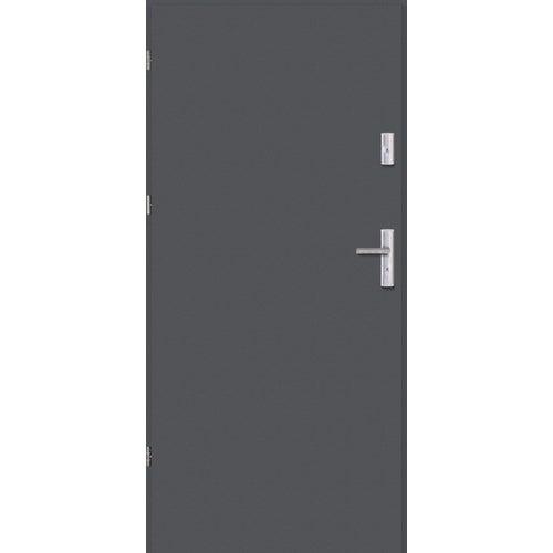 Drzwi wejściowe Optimum 90 cm lewe antracyt