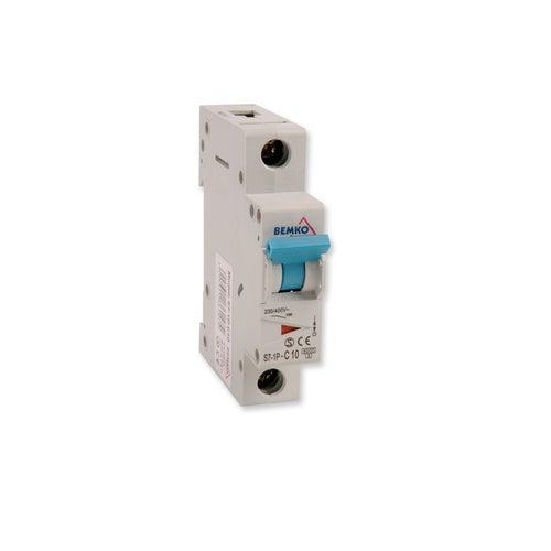 Wyłącznik nadprądowy 1P C 10A A00-S7-1P-C10 Bemko