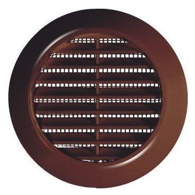 Kratka wentylacyjna Mini fi 70 T75BR brązowa