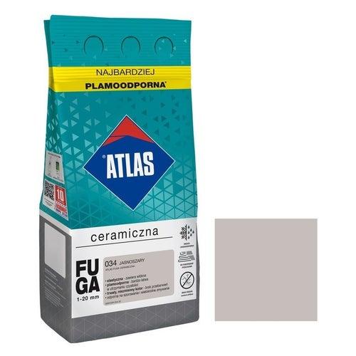 Fuga ceramiczna Atlas 034 jasnoszary 5kg