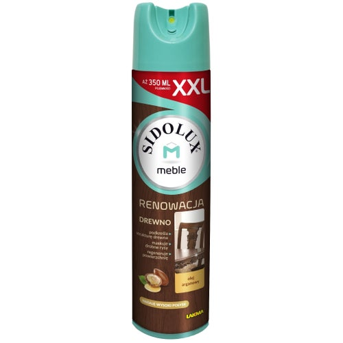 Sidolux M Renowacja aerozol do mebli olej araganowy 350ml