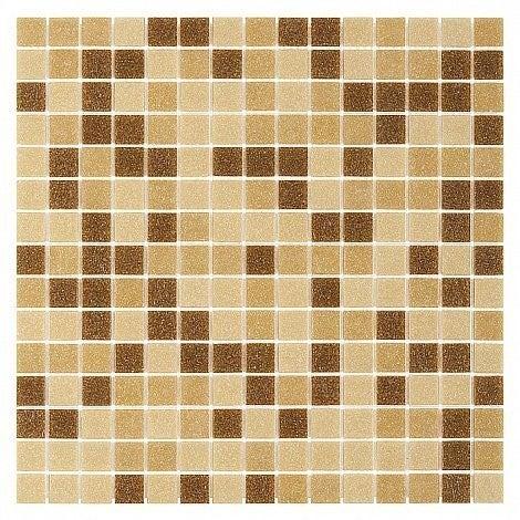 Mozaika szklana QMX Beige 32.7x32.7 cm gat.1