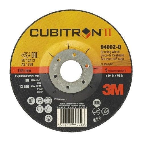 Tarcza do szlifowania metalu / Inox 125x7,0x22,2 mm 3M