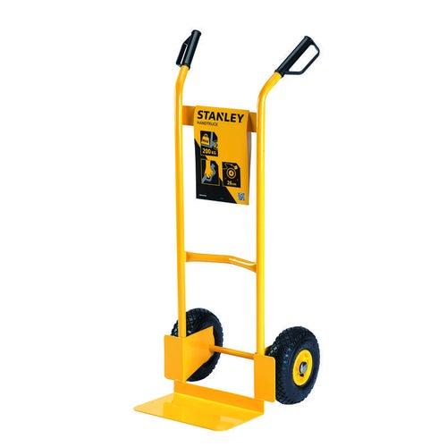 Wózek transportowy stalowy Stanley ładowność 200kg koła pneumatyczne fi260mm