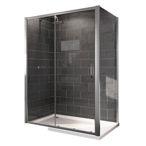 Ścianka prysznicowa Huppe X1 Flex 80x190 cm 140503.069.32