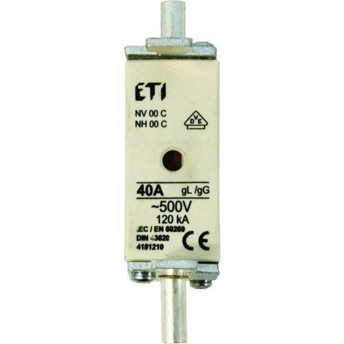 Wkładka topikowa WT-00 C gG 80A zwłoczna ETI