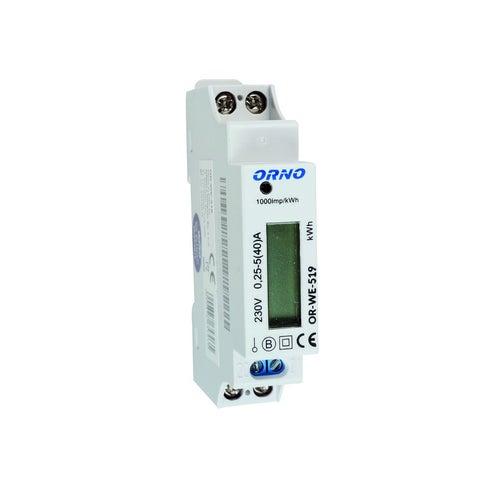 Licznik energii elekrycznej 1-fazowy, 40A, certyfikat MID