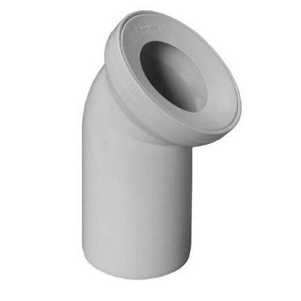 Kolano WC 45 mm