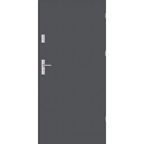 Drzwi wejściowe Optimum 00 cm prawe antracyt