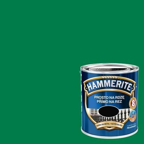 Farba antykorozyja Hammerite zielony połysk 2,5l